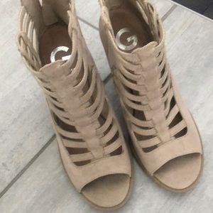 Tan Guess Shoes